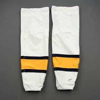 Viktor Arvidsson - 2020 NHL Winter Classic - Game-Worn Socks - Worn
