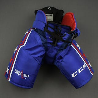 Large - Blue Third - CCM Pants - Game -Issued