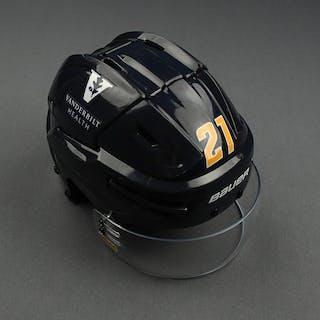 Nick Cousins - Game-Worn Reverse Retro Helmet - 2020-21 NHL Season