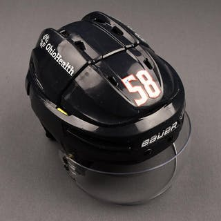 David Savard - Game-Worn - Bauer Helmet - 2019-20 and 2020-21 NHL Season