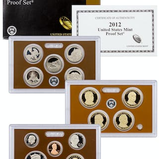 2012-S U.S. Proof Coin Set GEM Proof (Original Government Packaging)