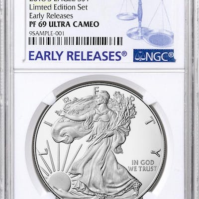 2018-S Proof American Silver Eagle From Limited Edition Silver Proof