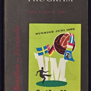 1958 World Cup Semi-Final Brazil v France match    – Current