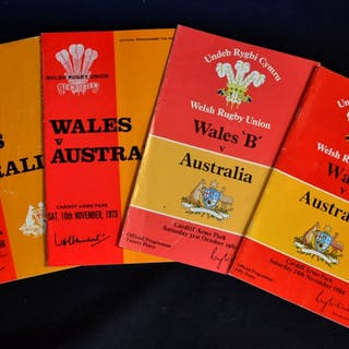 Wales v Australia Rugby Programmes (4): issues at...