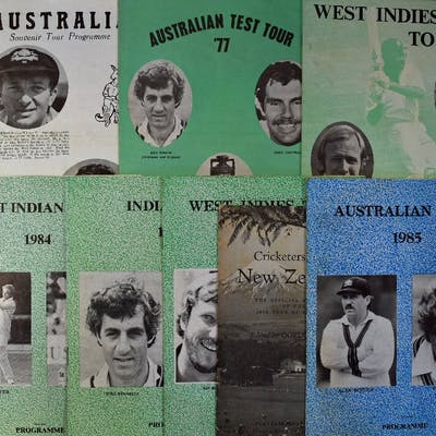 1958 Cricketers from New Zealand Souvenir Programme –...