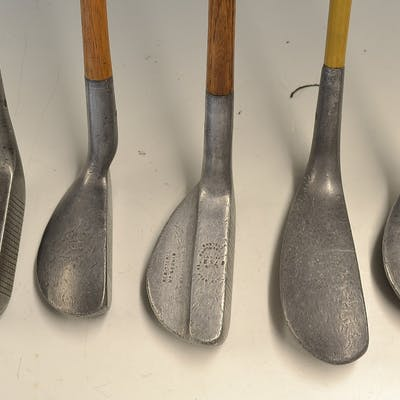 5x various alloy putters – 5x Mills Standard...