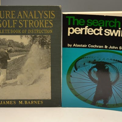 """Barnes, James M – """"Picture Analysis of Golf..."""