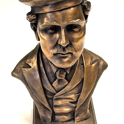 Young Tom Morris Bronze resin bust – with...