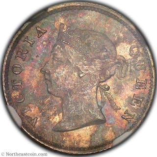 1891 4 Pence British Guyana NGC MS63