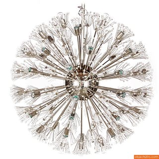 Monumental Chandelier Attributed to Emil Stejnar