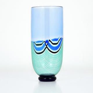 Colorful Vase by Seguso, Murano, Italy