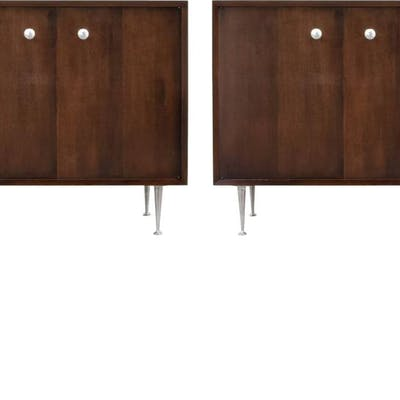 """George Nelson """"Thin Edge"""" Cabinet (2 Available)"""