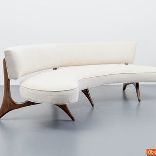 """Kagan """"176 SC Floating Seat & Back"""" Sofa"""