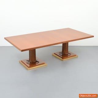 Monumental & Rare T.H. Robsjohn-Gibbings Dining Table