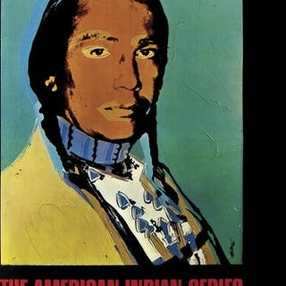 Andy WARHOL - The American Indian Series, lithographie offset, 1976