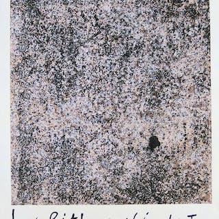 Jean DUBUFFET : Les lithographies / Berggruen, Lithographie originale - 1960