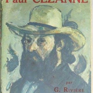 """Georges RIVIERE - """"Le maître Cézanne"""", 1923, Importante monographie"""