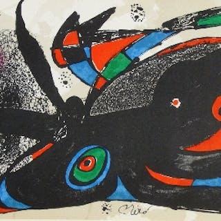 "Joan MIRÓ - ""Miro sculpteur"", 1974-75, 7 lithographies originales"