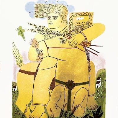 Alexandre FASSIANOS - Zeus, 2003, Sérigraphie signée