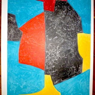 Serge POLIAKOFF - Composition, Lithograph