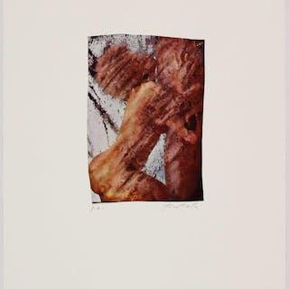 Mimmo ROTELLA, Impression offset signée appliqué sur papier