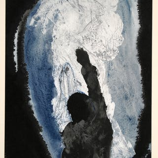 Salvador DALI - Ieremiae prophetia contra regem Ioachin, 1967, Estampe