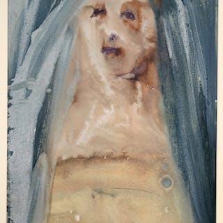 Salvador DALI - Plange, virgo, accincta sacco, 1967, Lithographie signée