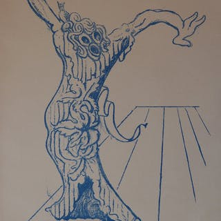Max ERNST : Electra, lithographie originale, signé (1959)