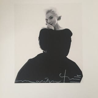 Bert STERN (1929-2013) - Rare black dress (1962), 2011, Photographie signée