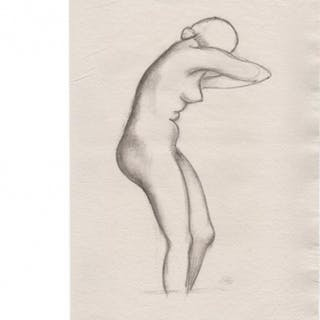 "Aristide MAILLOL - ""Jeanne profil droit"", Lithographie"