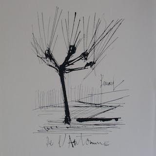 Bernard BUFFET (d'après) - L'automne, Gravure signée
