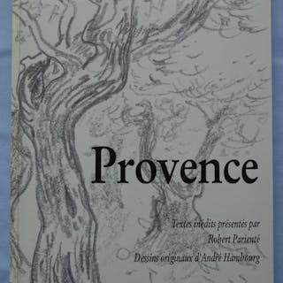André HAMBOURG : Provence - Livre avec dédicace et 13 dessins originaux