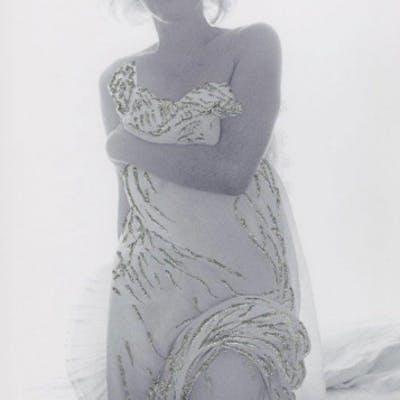 Bert STERN - Marilyn, Jeweled Toga, Photographie rehaussée, signée