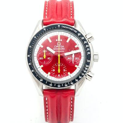OMEGA - Speedmaster automatique série limitée Michael Schumacher.