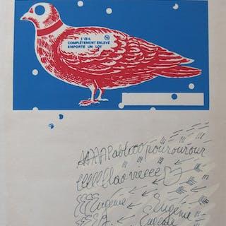 Eugénie DUBREUIL - Hommage à Pablo Picasso, Sérigraphie