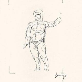 Joseph BEUYS - Codices Madrid 1, lithographie originale