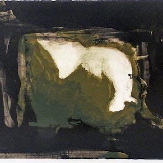 Jorge POMBO - Ahogos 3, lithographie signée et numérotée