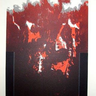 Cesar LOPEZ OSORNIO - La otra geometria 3 - Lithographie signée 1994