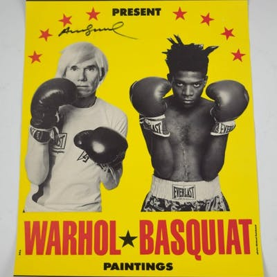 Jean-Michel BASQUIAT / Andy WARHOL :  Warhol Basquiat Paintings, 1985
