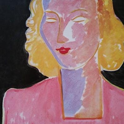 Henri Matisse (d'après) - Jeune femme en rose 1942