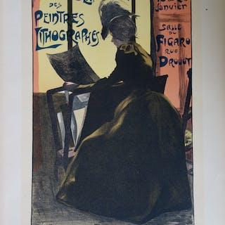 2ème exposition des peintres lithographes, Lithographie originale  (1896-1900)
