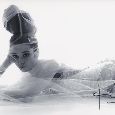 Bert Stern - Audrey Hepburn Laying Down