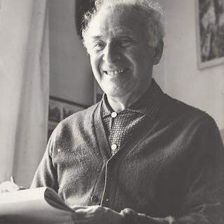 Marc CHAGALL - photographie originale d'atelier