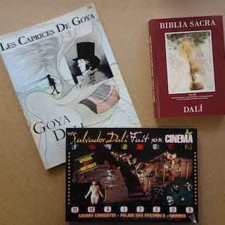 Salvador DALI : Biblia Sacra, Caprices de Goya et Dali fait son cinéma
