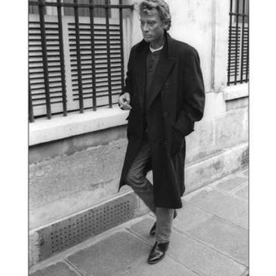 Francis Apesteguy - Johnny Hallyday. Seul dans la rue à Paris,1987