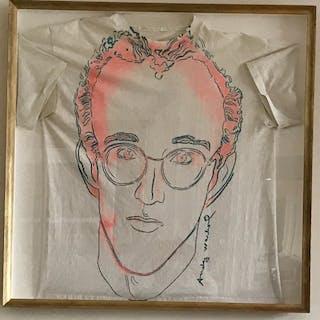 """Andy Warhol - """"Keith Haring"""", circa 1986"""
