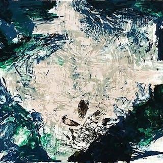 """Zao Wou-Ki """"Berggruen"""" 1982 signée au crayon annotee hc Répertorié"""