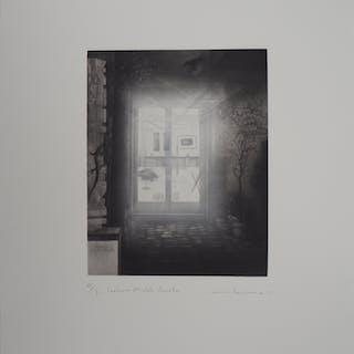 Mikio WATANABE : Galerie Michèle Broutta, Gravure originale signée, 2013