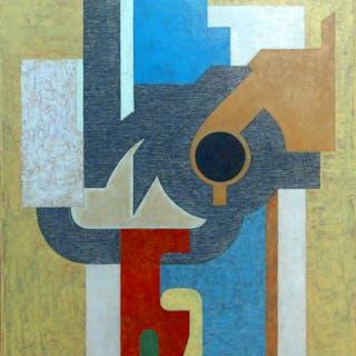 Serge Benoit - Composition 1984 - Peinture
