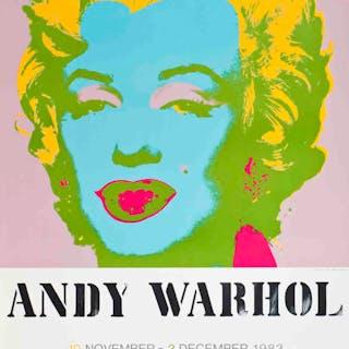 """Marilyn Monroe"" (d'après) Andy Warhol, 1983, Sérigraphie"